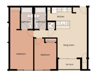 The Maple (2 Bedroom)