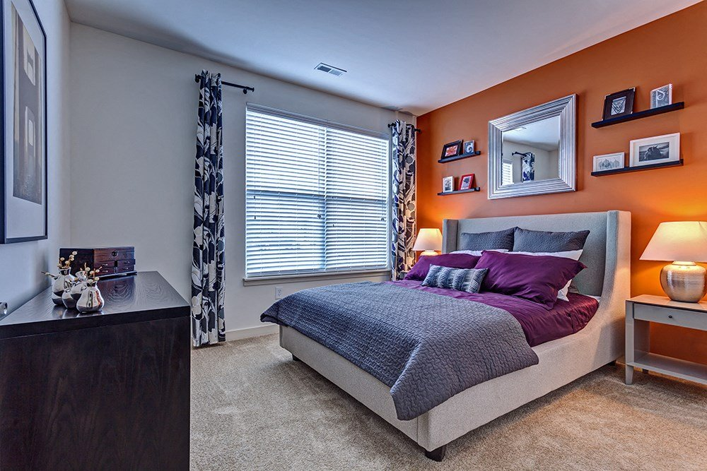 Bedroom at Penn Circle Apartments in Carmel, IN