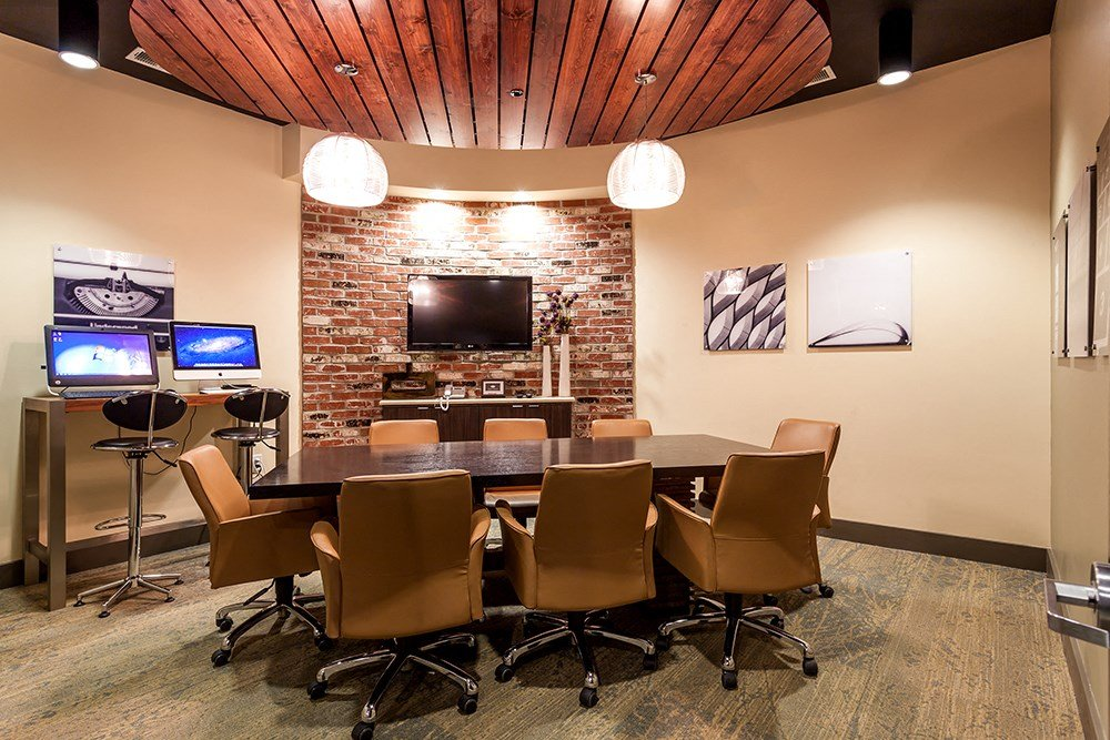 Conference Room at Penn Circle Apartments in Carmel, IN