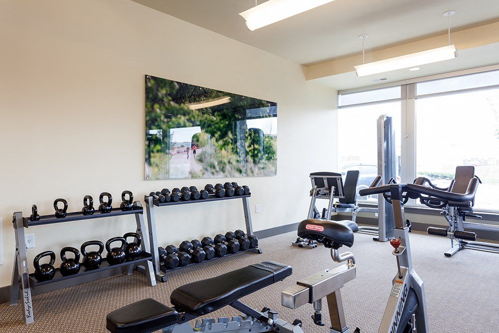 Fitness Center at Penn Circle Apartments in Carmel, IN