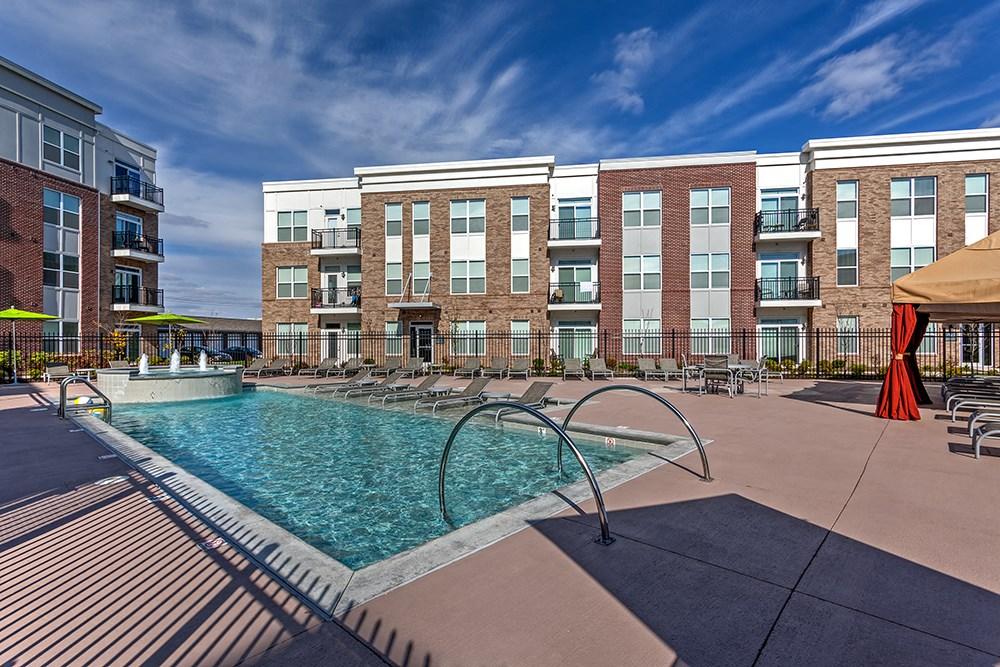 Swimming Pool at Penn Circle Apartments in Carmel, IN