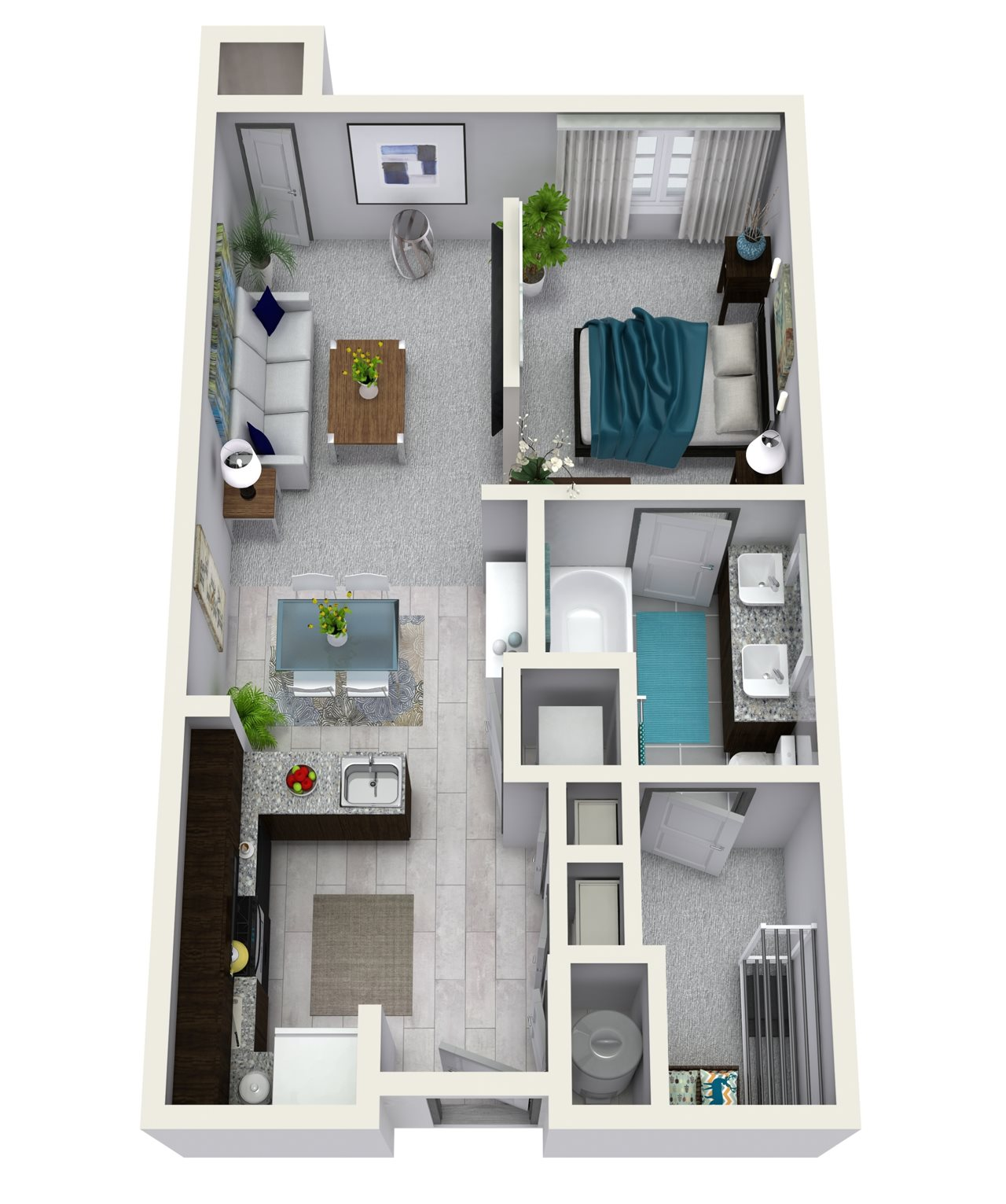 Studio 655 sqft S1A Floor Plan 16