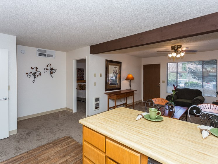 Mountain View Villa Apartments 1 Bedroom Open Floor Plan
