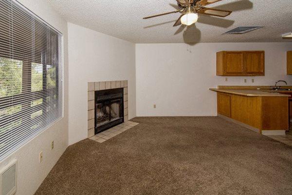 living room at Mountain View Villa Apartments, Cottonwood, AZ,86326