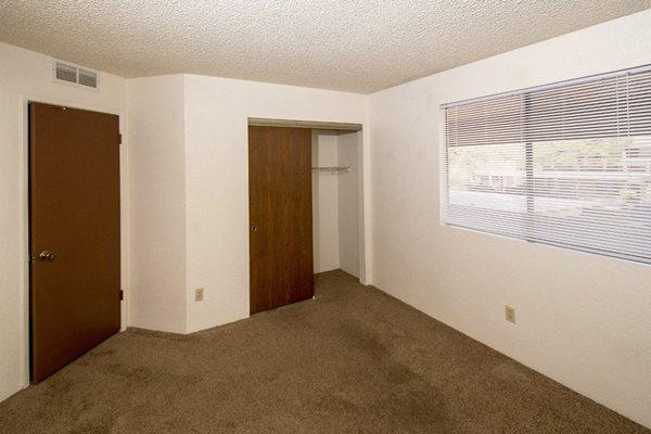 bedroom at Mountain View Villa Apartments, Cottonwood, AZ,86326
