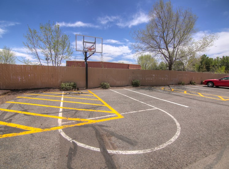 Basketball Goal at Pine View Village Apartments, Flagstaff, AZ,86001