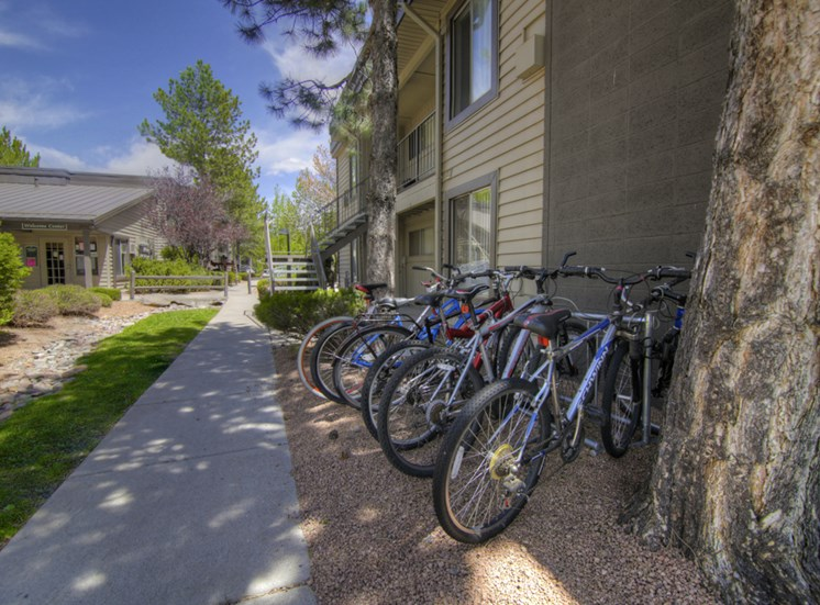 Bicycle Friendly at Pine View Village Apartments, Flagstaff, AZ,86001