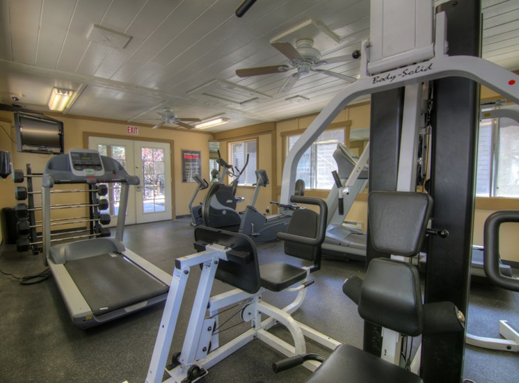 24-Hour Fitness Center at Pine View Village Apartments, Flagstaff, AZ,86001