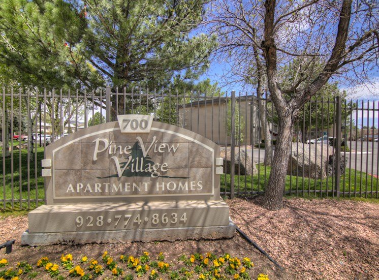 Gated Community Pine View Village Apartments, Flagstaff, AZ,86001