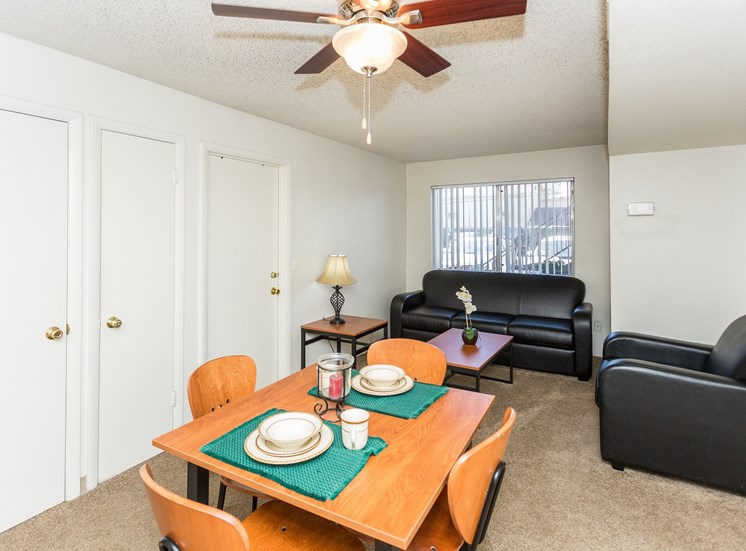 Pine View Village Rent by the Room Furnished Shared Living Area