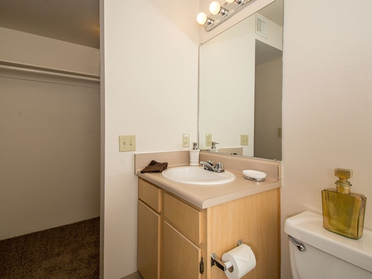 2 Bedroom Apartment En-Suite Bathroom and Closet