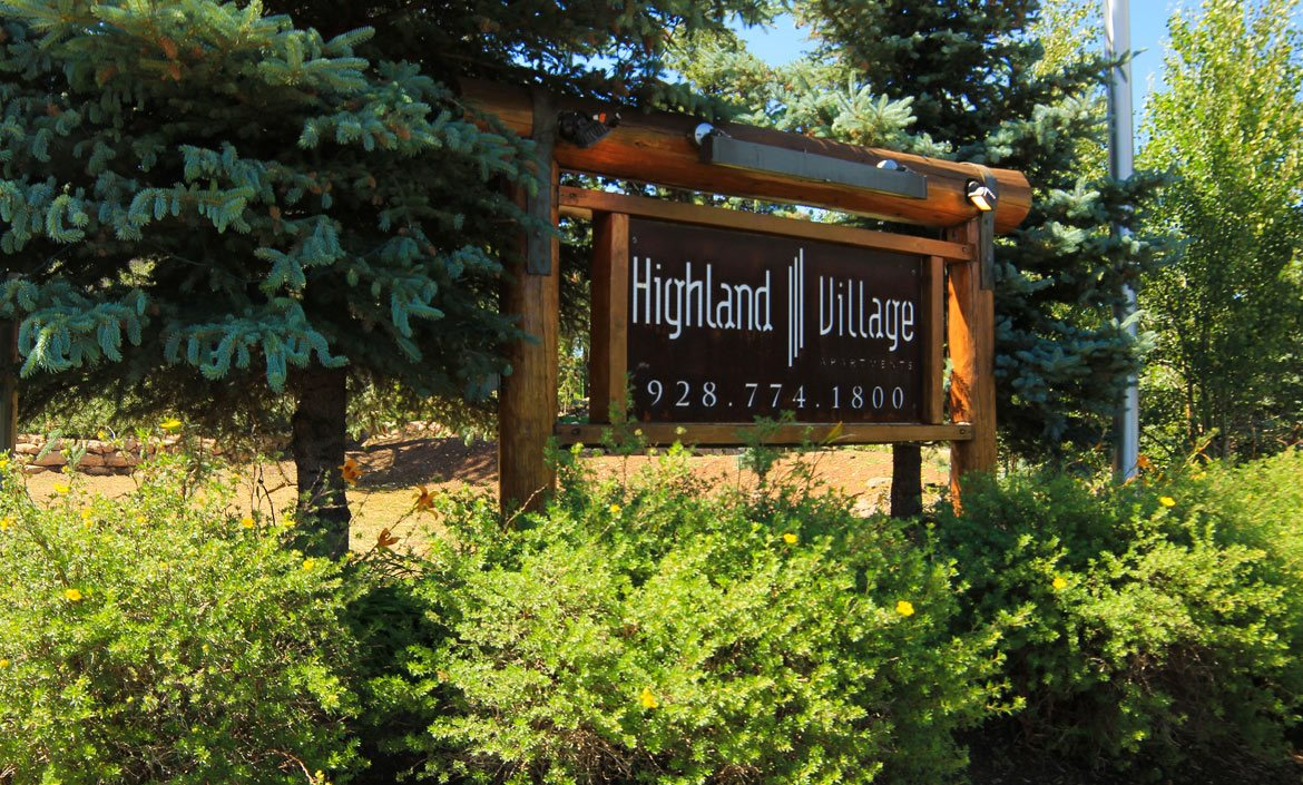 Gated Community at Highland Village Apartments, Flagstaff, AZ, 86001