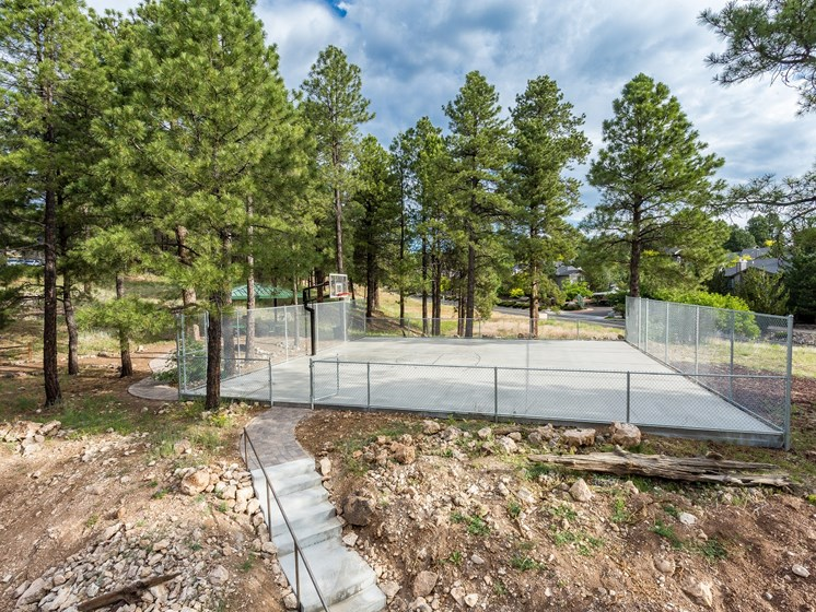 Highland Village Outdoor Basketball Court