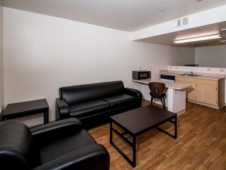 Studio Furnished Living Room