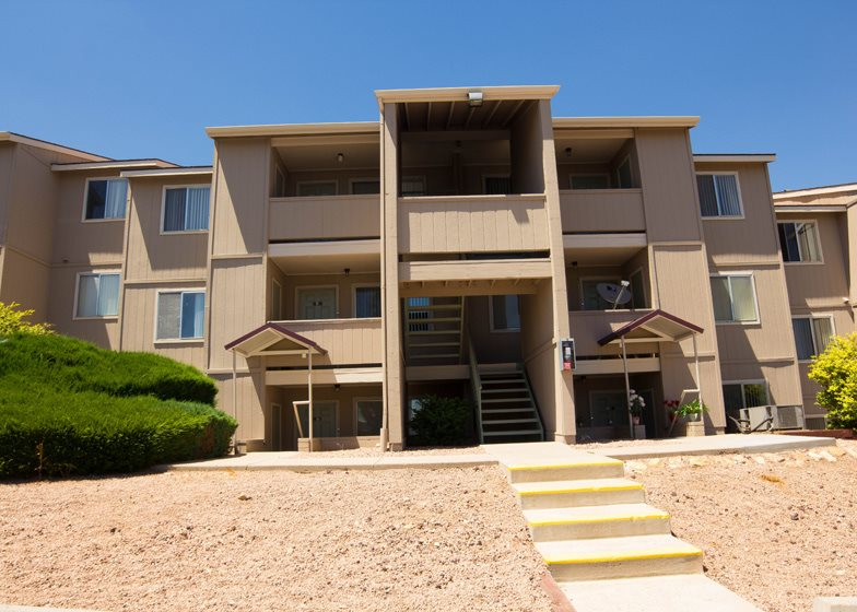 Private Balcony and Patios at Country Club Vista Apartments, Flagstaff, AZ, 86004