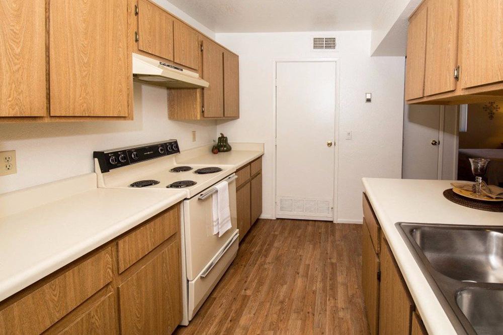 Kitchen with Standard Appliances
