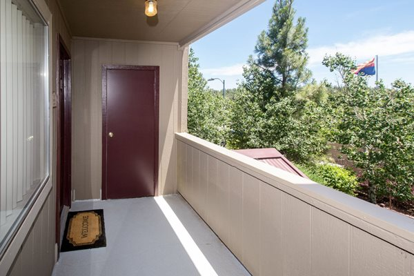Private Patios/Balcony Available at Country Club Vista Apartments, 5250 East Cortland Blvd, AZ 86004