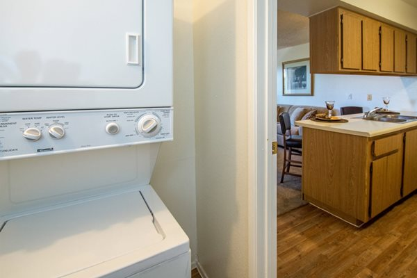 In-Home Washer and Dryer at Country Club Vista Apartments, 5250 East Cortland Blvd, Flagstaff, 86004