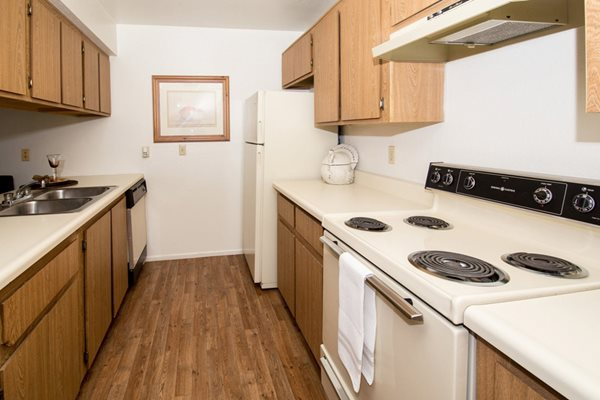 Gourmet Kitchens with Dishwasher and Disposal at Country Club Vista Apartments, 5250 East Cortland Blvd, Flagstaff, Arizona