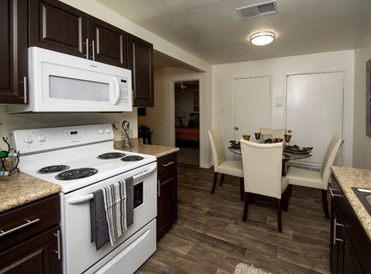 All Electric Kitchen at Country Club Terrace Apartments, 5404 East Cortland Blvd, Az 86004