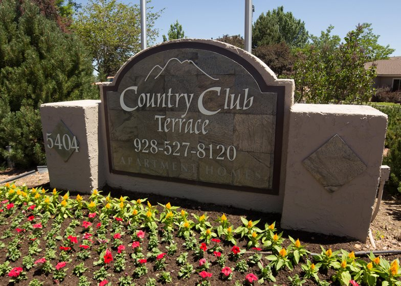 Gate Community at Country Club Terrace Apartments, Flagstaff, AZ, 86004