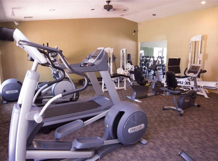 High-Tech Fitness Center at Country Club Terrace Apartments, 5404 East Cortland Blvd, Arizona