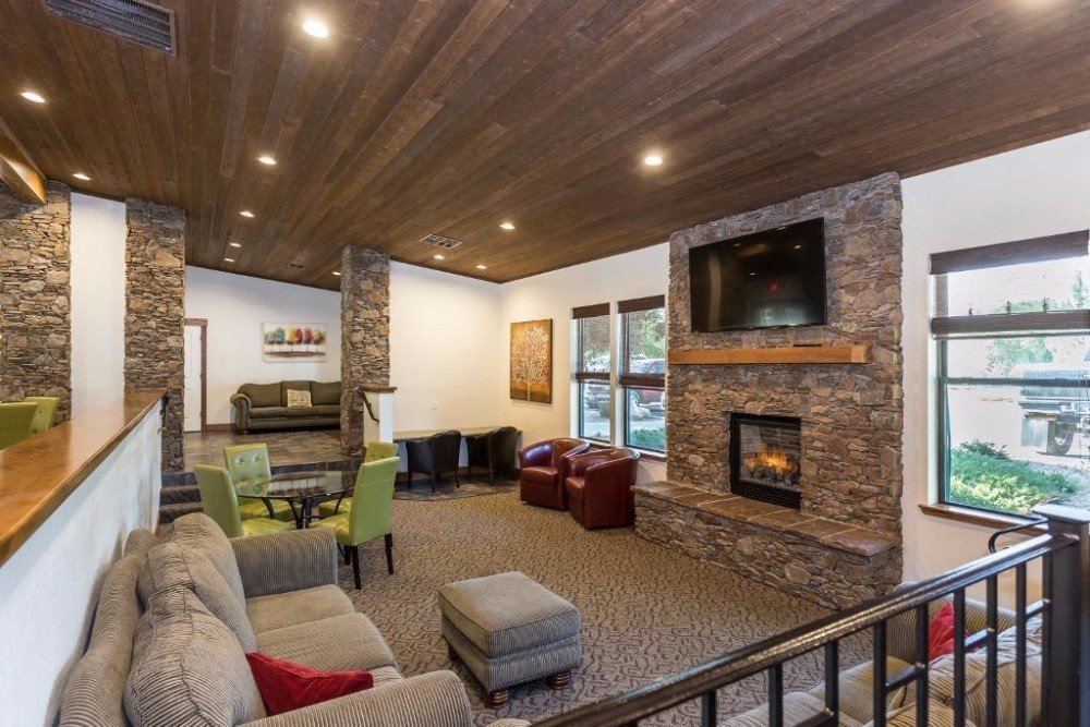 Stylish Clubhouse at Country Club Terrace Apartments, Flagstaff, 86004