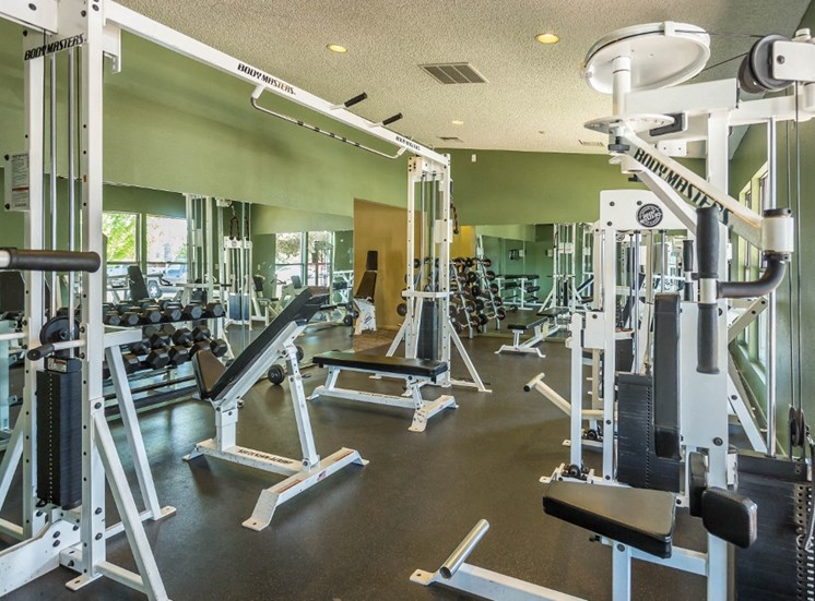 Fully Equipped Fitness Center at Country Club Terrace Apartments, Flagstaff, AZ,86004