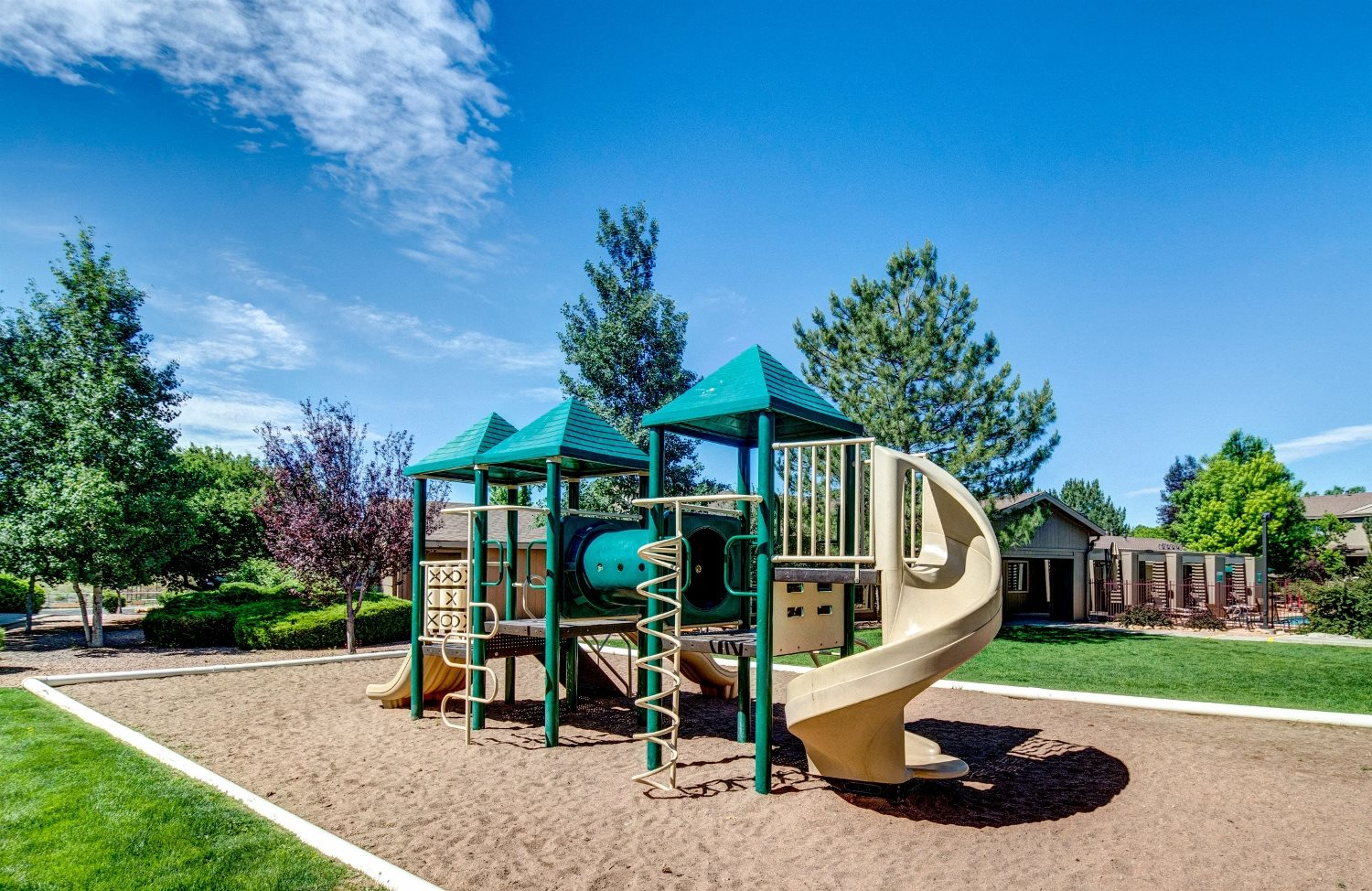 Playground at Country Club Terrace Apartments in Flagstaff, AZ