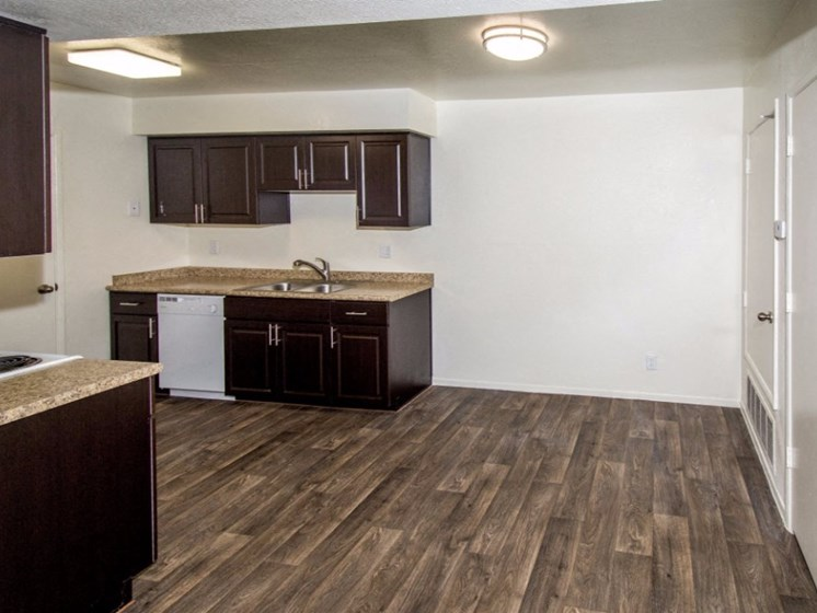 New Countertops and Cabinets at Country Club Meadows Apartments, 5303 East Cortland Blvd, Flagstaff, 86004