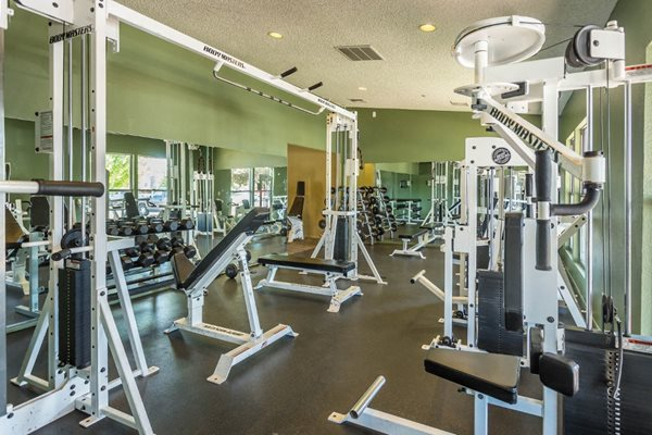 Access to Fitness Center at Country Club Terrace Apartments in Flagstaff, AZ
