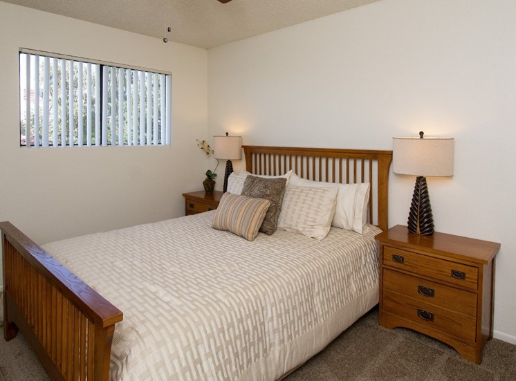 Townhouse Bedroom at Country Club Meadows Apartments in Flagstaff, AZ