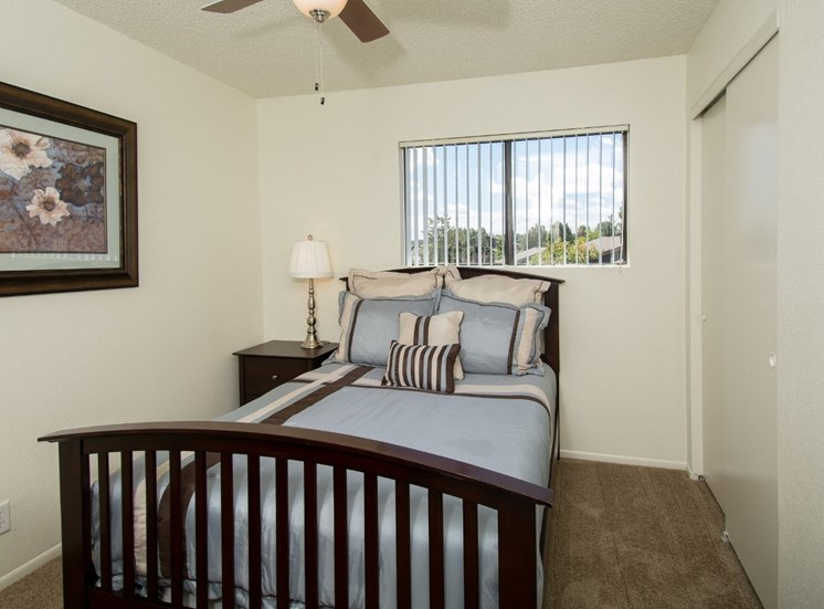Townhouse Second Bedroom at Country Club Meadows Apartments in Flagstaff, AZ