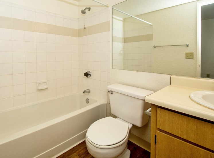 1 Bedroom Apartment Full Bathroom