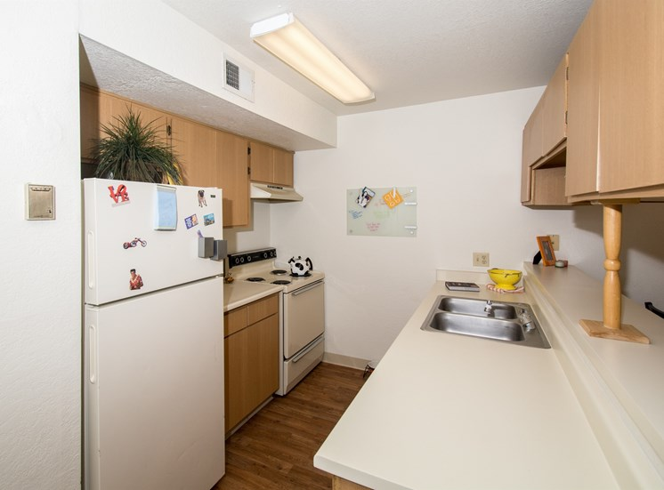 2 Bed 2 Bath Apartment Kitchen