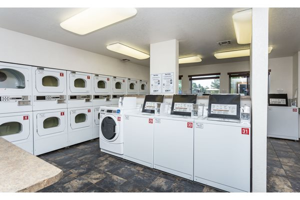 Updated Laundry Facilities at Woodlands Village in Flagstaff, AZ