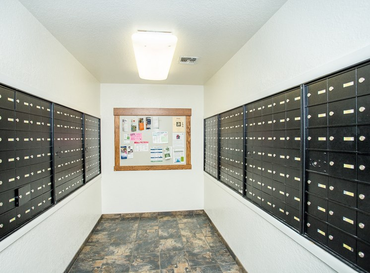 Woodlands Village Indoor Mail Room