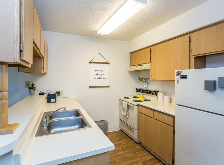 Woodlands Village Apartment Homes Studio Kitchen