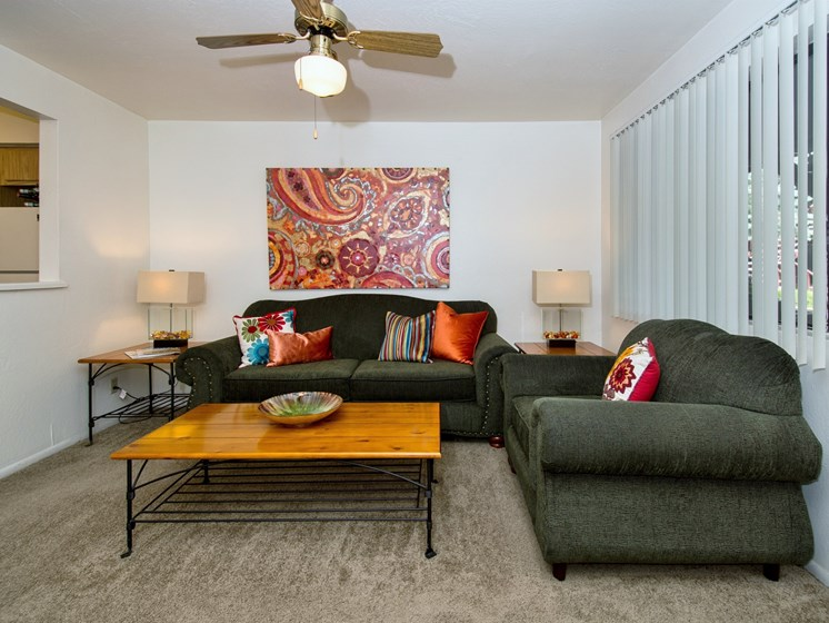 Spacious Living Areas at University Square Apartments