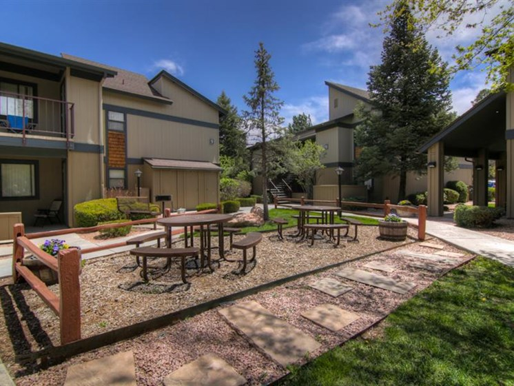 Park-like Setting at University Square Apartments, Flagstaff, AZ,86001