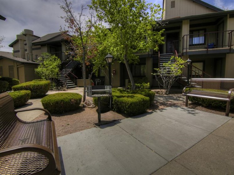 Beautiful Outdoor Space University Square Apartments, Flagstaff, AZ,86001