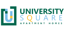 at University Square Apartments Logo, Flagstaff