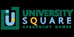at University Square Apartments Logo, Flagstaff