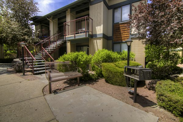 BBQ Grills and Picnic Areas at University Square Apartments in Flagstaff, AZ