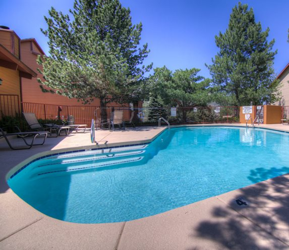 Resort Style Pool at Butterfield Apartments, Flagstaff, AZ, 86004