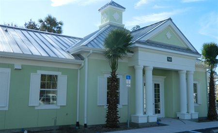 Grand Entry Porte-Cochere at Olive Grove Apartments, Ormond Beach, 32174