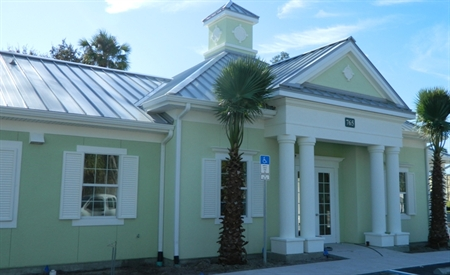 Grand Entry Porte Cochere At Olive Grove Apartments, Ormond Beach, 32174
