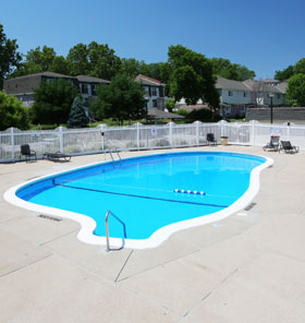 Pool at West Haven Apartments in Omaha