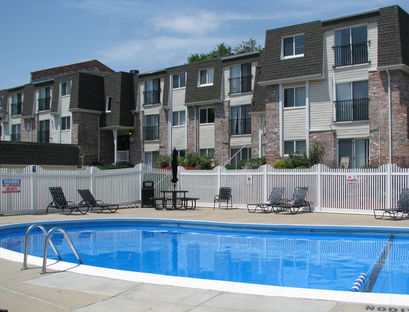 Outdoor Pool at West Haven Apartments