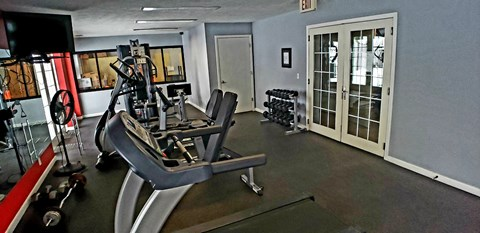Fitness Center at Pacific Winds Apartments Omaha